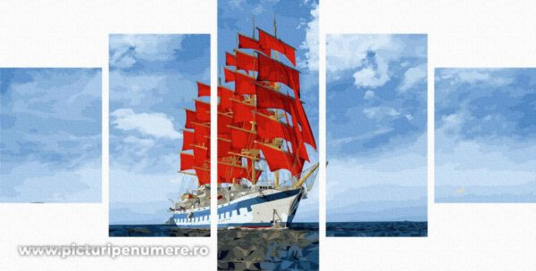 Pictura pe Numere WX1012 5 Piese