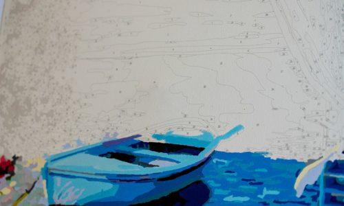 pictura cu vopsele acrilice