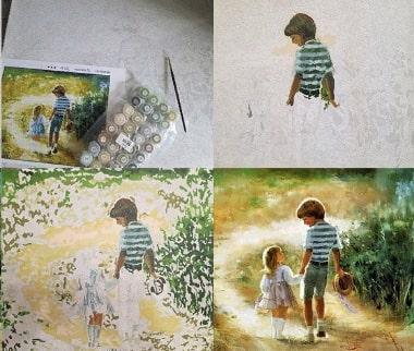 Picturi pe numere: sfaturi de colorat, metode si sfaturi de pictura