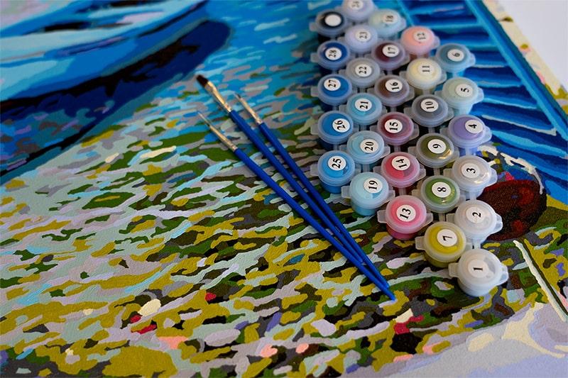 Numarul de culori din setul de picturi pe numere
